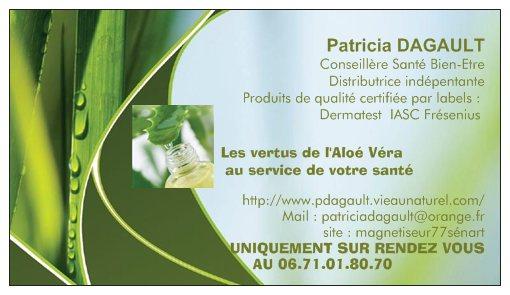 Carte Visite LR Aloe Vera
